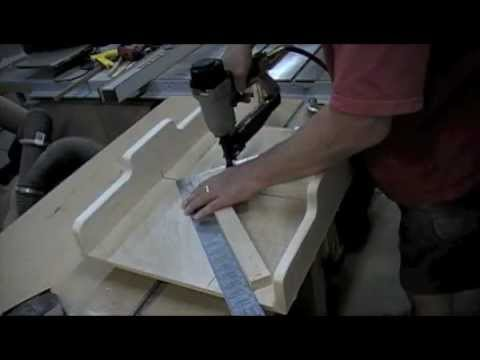 Woodworking Project - How to Make a Miter Sled for a Table Saw