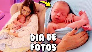 ENSAIO NEWBORN DO BABY - COMO FUNCIONA?   Amanda Domenico