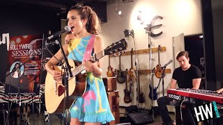 Megan Nicole 'Electrified' LIVE Acoustic   Hollywire Sessions