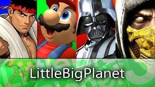 LittleBigPlanet 3 FIGHTING GAME Levels!