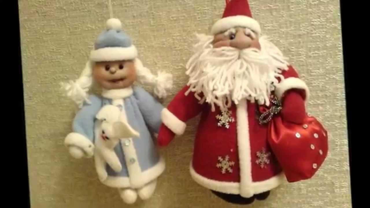 Деде мороз своими руками фото