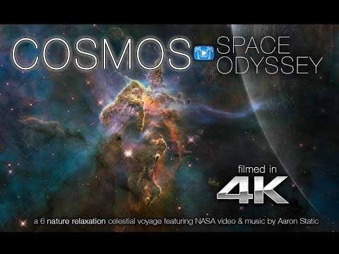 COSMOS: Space Odyssey 4K |  Nature Relaxation™ Video ft. NASA & Music by Aaron Static