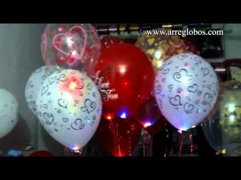 globos con luz