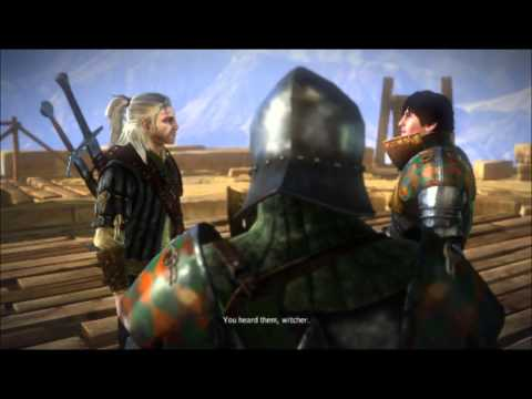 Let's Play The Witcher 2 - Part 3: Drop - Your - Sword!