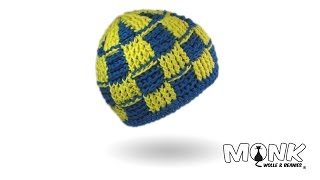 Crochet Basket Stitch Beanie
