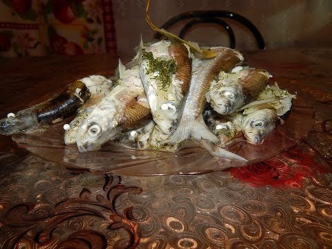 Самое простое блюдо из рыбы.