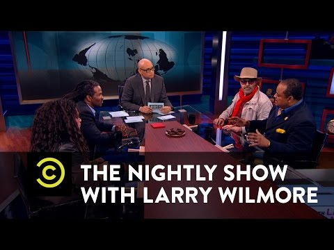The Nightly Show - Panel - Legalizing Marijuana