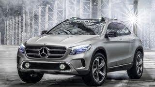 Official Video: First impressions of the new Mercedes Concept GLA