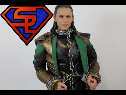Thor The Dark World Hot Toys Loki Movie Masterpiece 1/6 Scale Collectible Figure Review