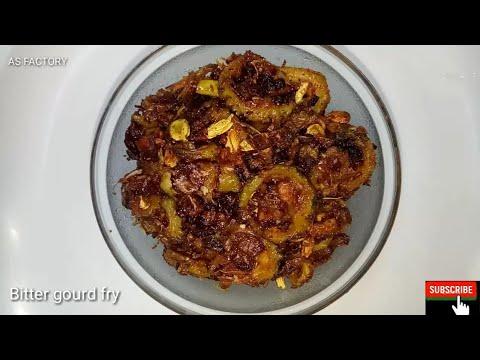kakarakaya fry recipe   bitter gourd fry   kakarakaya fry curry   kakarakaya fry curry in telugu