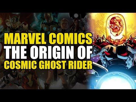 Origin of Cosmic Ghost Rider!