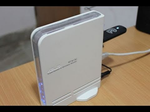 3G setup on Asus RT N13U WiFi router with 3G datacard
