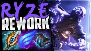 NEW SEASON 9 RYZE REWORK IS INSANE!!!