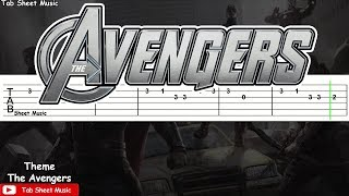 The Avengers - Main Theme Guitar Tutorial