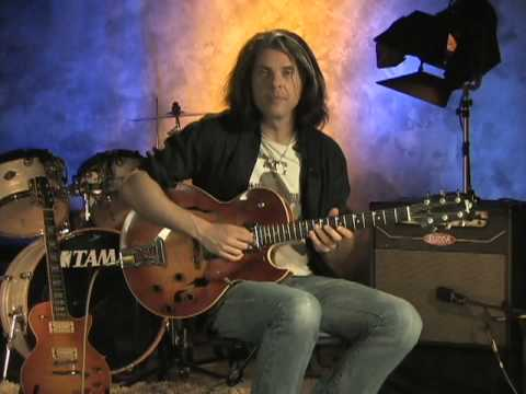 Alex Skolnick From His Rock House DVD Jazz Guitar/Minor ii-Vi