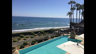 Marbella's finest Beachfront Mansion for rent and sale