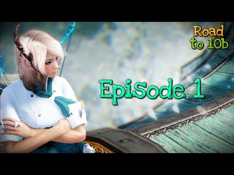 Black Desert - Road to 10bil ➺ Week1 Ep1 : A Journey into the Seas.