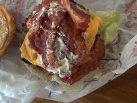 Hardee's Six Dollar Super Bacon Cheese Thickburger