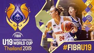 LIVE - Hungary v Korea - FIBA U19 Women's Basketball World Cup 2019