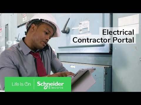 Schneider Electric Electrical Contractor Portal
