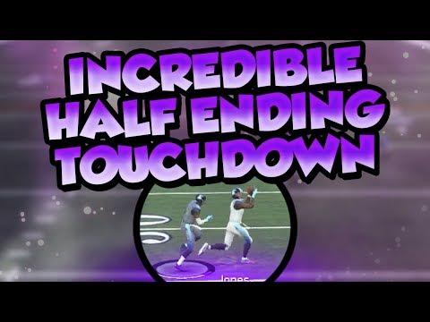 Madden 18 Ultimate Team :: Incredible Half Ending Touchdown :: Madden 18 Ultimate Team