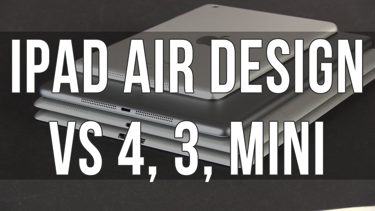 Ipad Design Dimensions Ipad Air Design And Dimensions