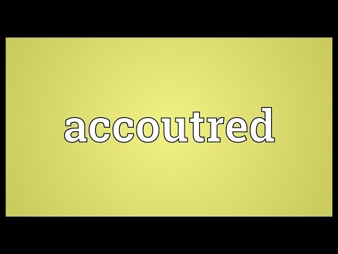 Header of Accoutred