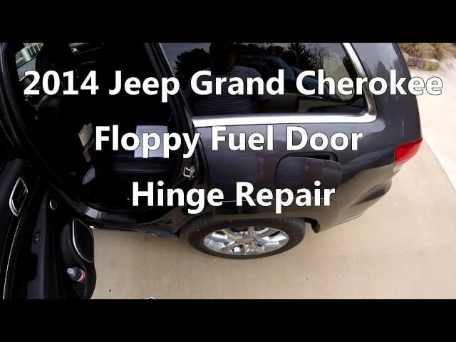 2014 Jeep Grand Cherokee Loose Fuel Door Fix - YouTube