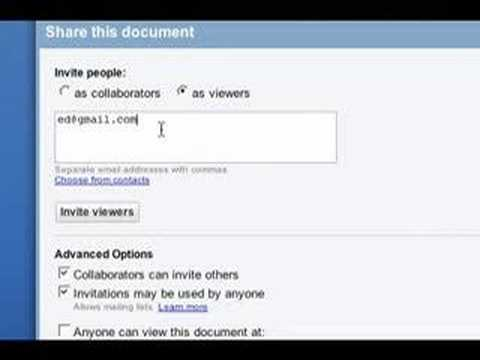 Google Docs - Google Privacy Tips