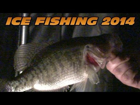 2014 Ice Fishing Pa Lakes Kahle Arthur Justus Wilhelm