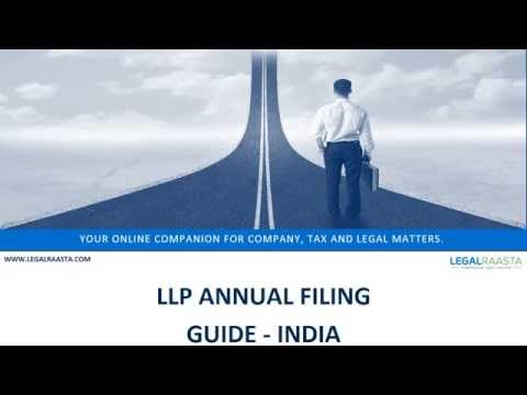 Limited Liability Partnership Annual Filing