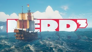 Four Men, One Boat - Sea Of Thieves With ManyATrueNerd and UpIsNotJump
