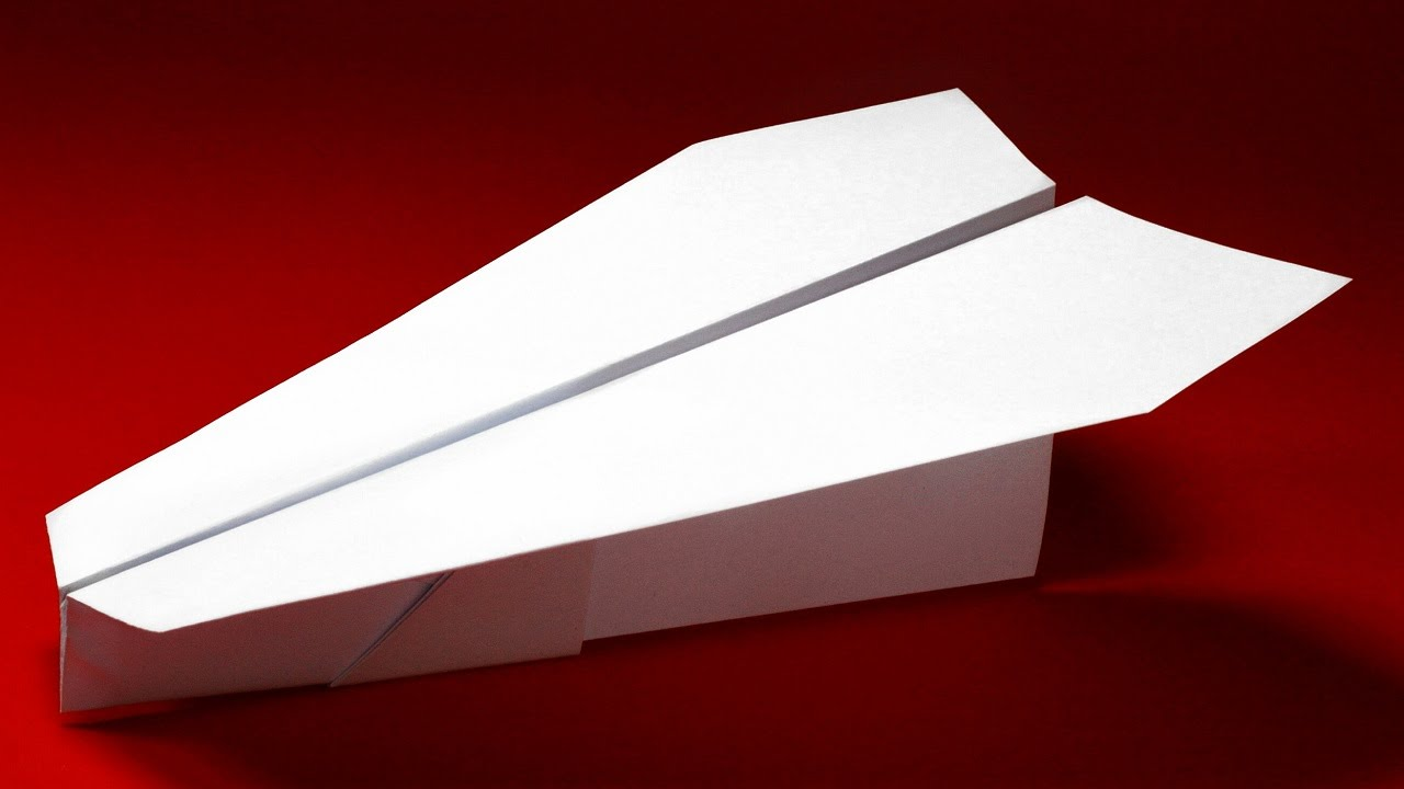 Best Paper Plane Design For Speed