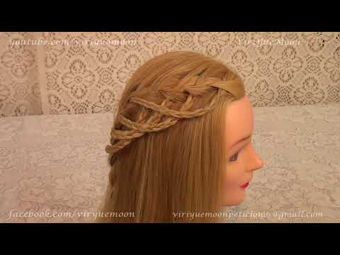 Cascada de trenzas |  Waterfall Braid | Penteado