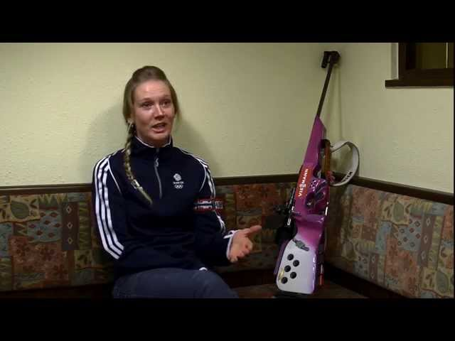 Olympic Biathlete Amanda Lightfoot looks ahead to Sochi 2014