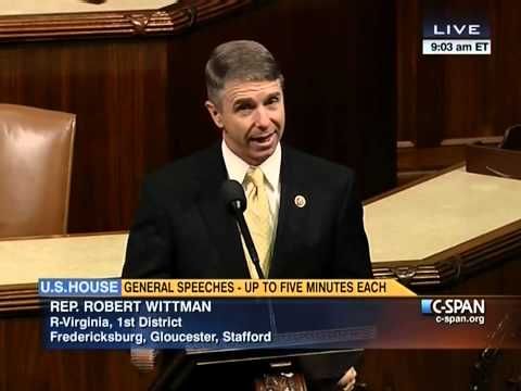 Congressman Rob Wittman speaks on the House Floor on October 11, 2013, on the 11th day of the government shutdown. Mr. Speaker, In July, I stood at this same...