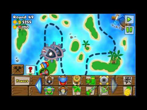 Bloons Tower Defense 5 Archipelago Hard Iphone Ipod