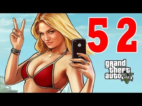 Let´s Play Grand Theft Auto 5 / GTA V Gameplay Deutsch - Part 52 - Ausflug mit Chop und Schießstand