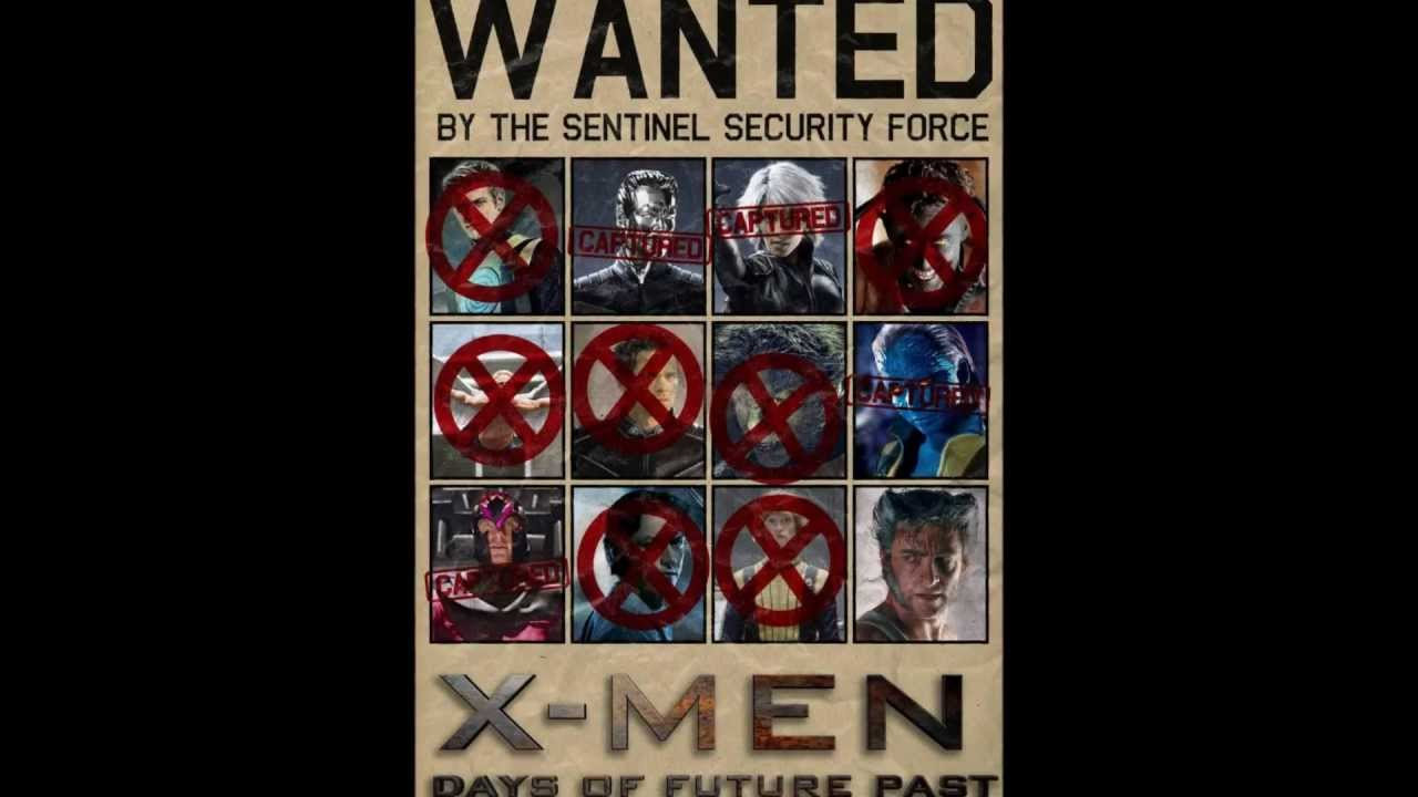 X Men Days Of Future Past Character List X-men Days of Future Past