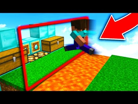100% INVISIBLE MINECRAFT WALL TROLL! (Minecraft Trolling)