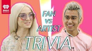 Poppy Challenges A Super Fan In A Trivia Battle | Fan Vs. Artist Trivia