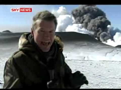 Close-Up Look At Erupting Volcano In Iceland: Sky News Takes To The Skies