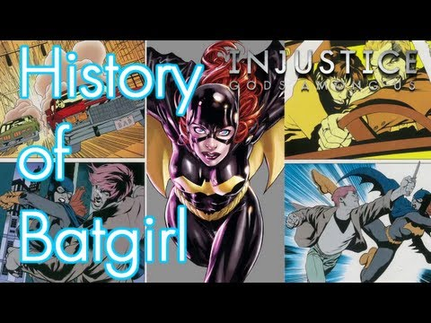 INJUSTICE: GODS AMONG US - History of Batgirl [HD] (Xbox 360/PS3/Wii U HD)