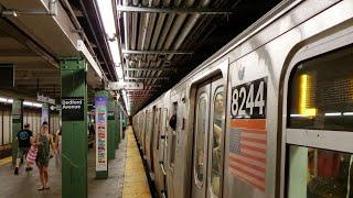 MTA NYC Subway: (L) train service at Bedford Ave, Lorimer St & 1st Ave