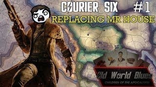Hearts of Iron 4: Old World Blues - Courier Six #1 - Replacing Mr House