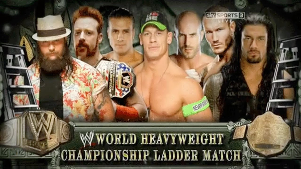 Match Wwe 2014 Wwe Money in The Bank 2014