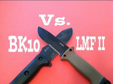 Ka-Bar BK10 Vs. Gerber LMF II Knife Review