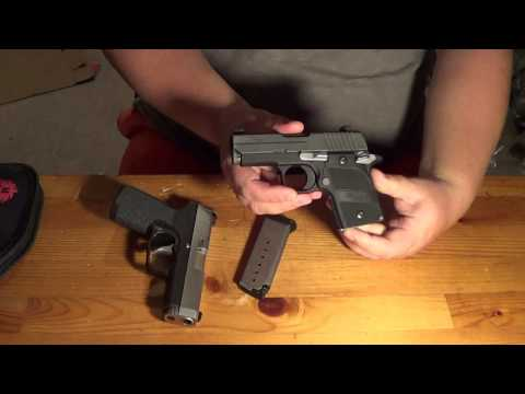 Sig P938 vs Kahr CW9: Size & Feature Comparison