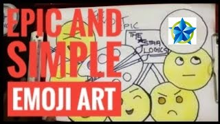 THE MOST EPIC AND SIMPLE EMOJI ART
