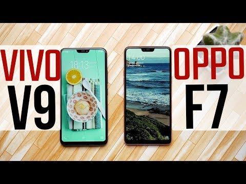 OPPO F7 vs vivo V9: Comparison overview [Hindi-हिन्दी]